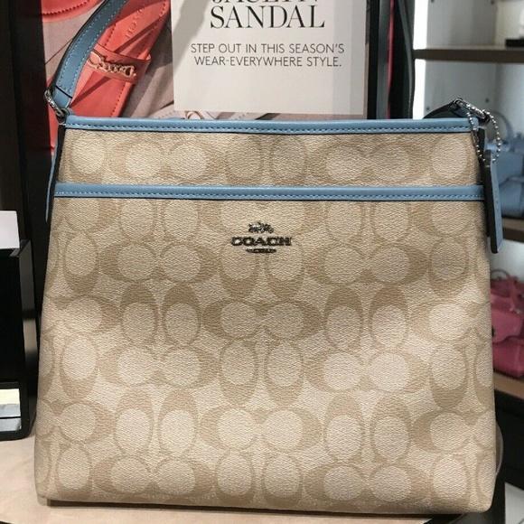 0ddca4625 Coach Bags | Signature Zip File Crossbody Bag F29210 Svca | Poshmark